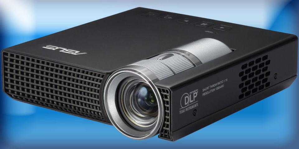 Als idealen Notebook-Begleiter beschreibt Asus den LED-Beamer P1.