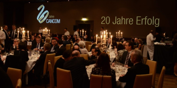 Cancom feierte sein 20. Jubiläum im Münchner Lenbach.