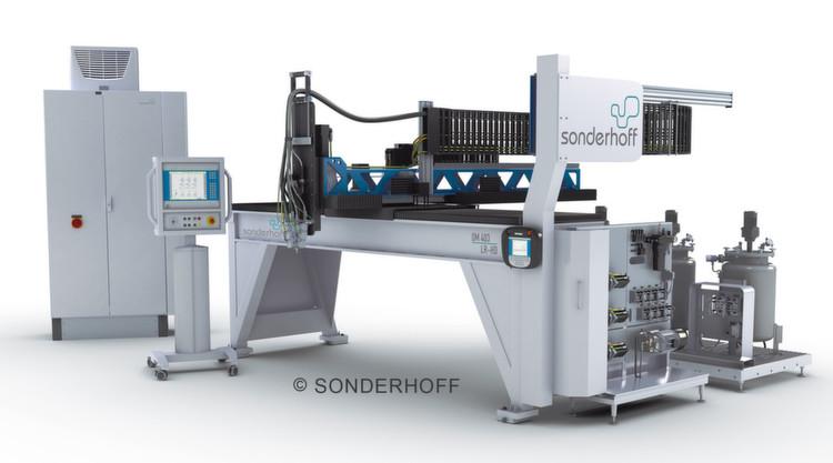 Mit der Investition in eine neue vollautomatische Zwei-Komponenten-Anlage von Sonderhoff erhöht FIBOX seine Kapazitäten im PUR-Dichtungsschäumen.