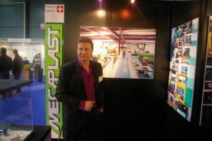 Jean-Marc Jaccottet, directeur de Mecaplast, sous-traitant en injection plastique à Botterens. (Image: MSM / JR Gonthier)
