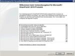 Abbildung 1 - Installieren der Systemvoraussetzungen für Microsoft SharePoint 2010-Produkte.