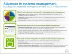 Abbildung 2: In diesem Frühjahr stellt Dell 7 neue Server-Modelle vor, die auf 'Intel Xeon E5-2600' basieren. Integriert ist die zweite Generation eines Lifecycle-Managements sowie 'Open Essentials' für ein aktives System-Management. Die Funktionen lassen sich in übergeordnete Managment-Werkzeuge einbinden etwa von BMC, CA Technologies oder IBM.