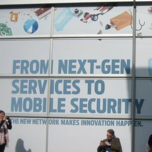 "Juniper widmete sich auf dem Mobile World Congress 2012 den Themen ""Next Generation Services"" und ""Mobile Security""."