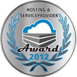 Der HOSTING & SERVICE PROVIDER AWARD wird am 4. Mai 2012 verliehen.