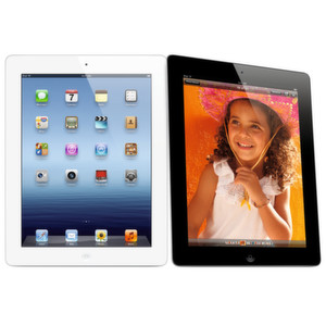 Das neue iPad (ohne weiteren Namenszusatz) kommt in Schwarz und Weiß, mit Retina-Display und dem Mobilfunkstandard LTE.