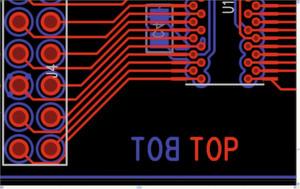 Bild 4: TOP-Beschriftung im PCB-Design