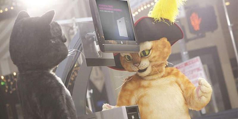 """HP hat den Dreamworks-3D-Film """"Der gestiefelte Kater"""" mit Z-Workstations unterstützt. (Bild: HP)"""