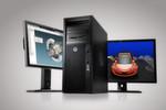 Das Workstation-Modell HP Z420 bietet bis zu 64 GB RAM Speicher sowie einen Hochgeschwindigkeitsspeicher von bis zu 15 Terabyte.
