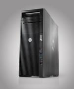 HP Z620 Workstation ist mit bis zu 96 Gigabyte RAM Speicher und einem Hochgeschwindigkeitsspeicher von maximal 11 Terabyte ausgestattet.