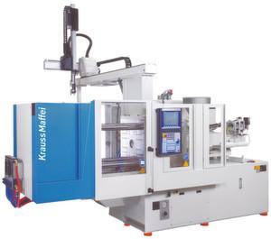 Der Kunststoffmaschinenhersteller Krauss-Maffei konnte mit dem Einsatz eines APS-Systems seinen Umlaufbestand im abgelaufenen Geschäftsjahr um 15% reduzieren. (Bild: Krauss-Maffei)