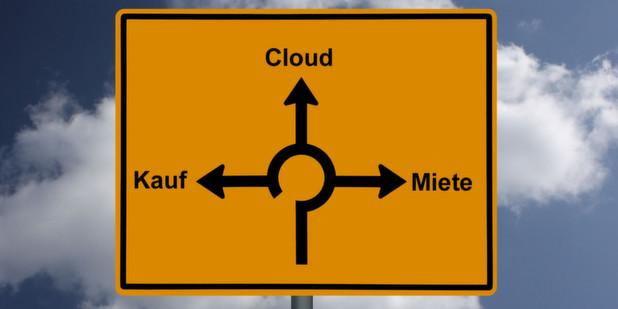 Welches Betriebsmodell – ob Kauf, Miete oder Cloud-Nutzung – für Unternehmen das richtige ist, hängt nicht nur bei ERP-Software von individuellen Überlegungen ab. (© Christian-P. Worring - Fotolia.com)