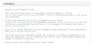 """Das Crowbar-Framework gehört zum Open-Source-Betandteil von """"Dell Open Stack"""" (Bild: dellcloudedge / crowbar)"""