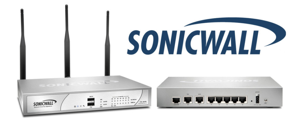 Die UTM-Firewall Sonicwall TZ 215 ist mit oder ohne WLAN-Unterstützung erhältlich.