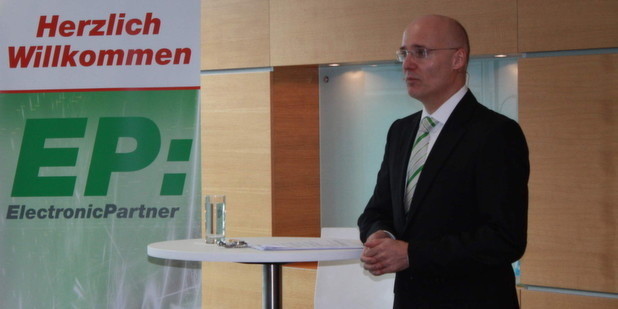 Dr. Jrg Ehmer, Chef der Verbundgruppe Electronic Partner.