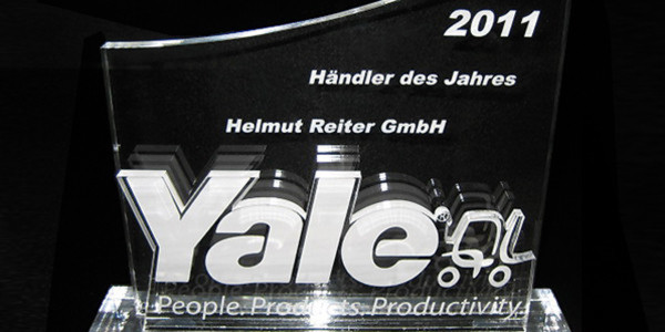 Händler des Jahres 2011 - eine der drei Auszeichnungen für Reiter. (Bild: Reiter)