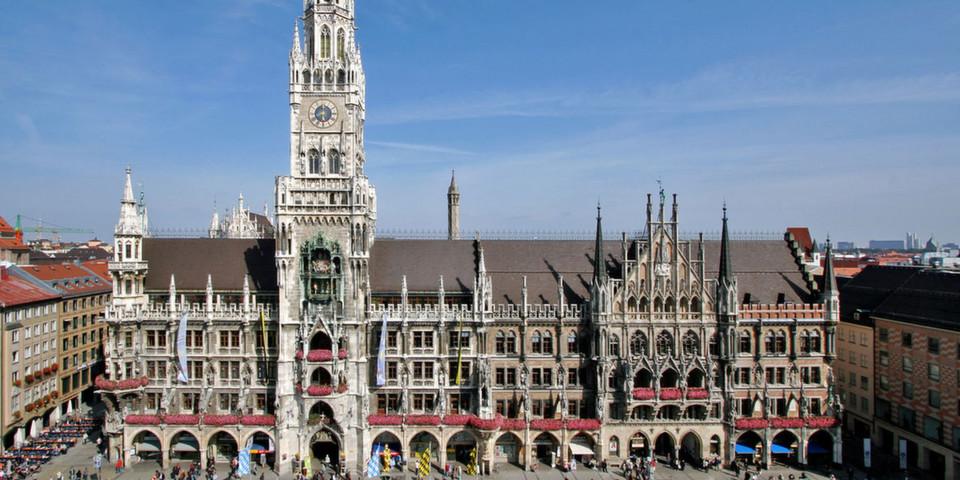 Münchner Rathaus: In zehn Jahren von Windows zu Open Source (Foto: LHM)