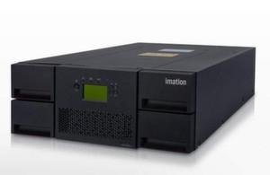 Der native Speicherplatz der LTO-Tape-Libraries vom Imation beträgt 1,5 Terabyte.