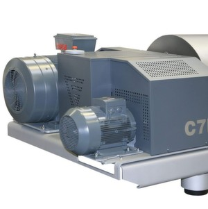 Flottweg's new C7E decanter centrifuge has been specially developed to fulfil the strict requirements of wastewater treatment. (Picture: Flottweg)