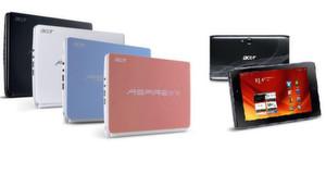 Tchibo bietet das Netbook Acer Aspire one und den Tablet Acer Iconia Tab A101 an.