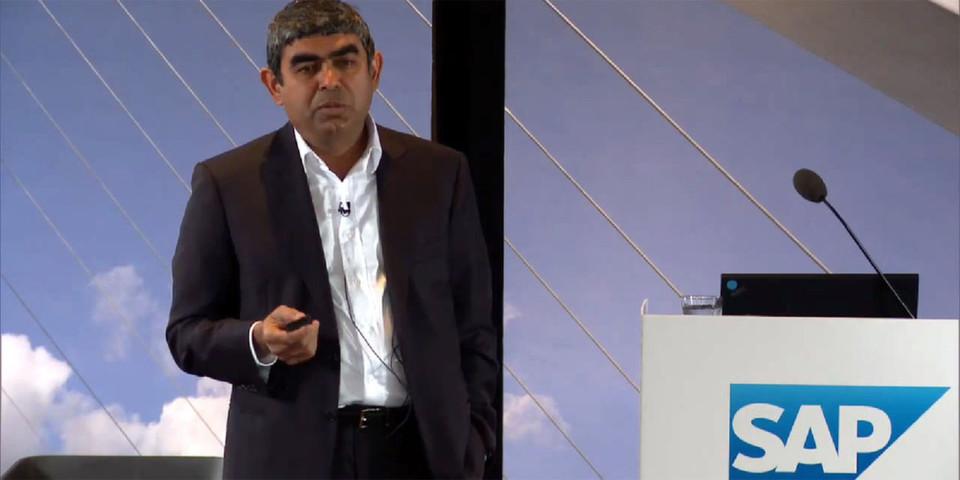 Vishal Sikka will den selbst beschwörten Paradigmenwechsel im Datenmanagement anführen.