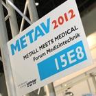 Metav 2012: Metal meets Medical