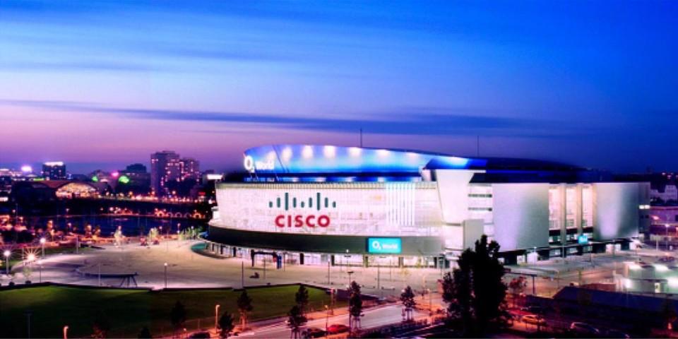 Die O2 World Berlin ist Veranstaltungsort der Cisco Expo 2012, der sechsten Ausgabe der Hausmesse des IT-Unternehmens.