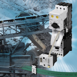 Eaton's PKE motor-protective circuit-breaker with SmartWire-DT helps to increase availability of conveyor systems. (Picture: Eaton)