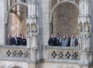 Die Symposiumsteilnehmer auf dem Balkon des Braunschweiger Altstadtrathauses. (Bild: Thünen-Institut)