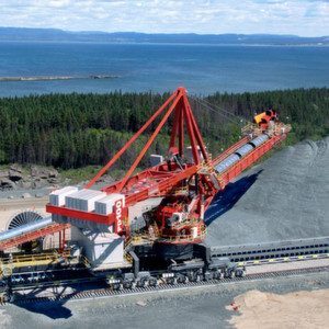 Sandvik Mining received an oder from Australia for design, supply and installation of materials handling equipment for iron ore stacking and reclaiming for a surface mine. (Picture: Sandvik)
