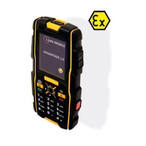 The Advantage 1.0, an ATEX Zone 1/21 mobile phone with 3G technology and WiFi, boldly goes whgere no mobile phone has gone before.
