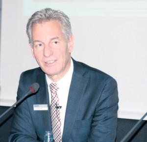 """""""Wir rechnen für das laufende Jahr mit einem weiteren Umsatzwachstum von 6 bis 7 %"""", sagte Dr. Eberhard Veit, Vorstandsvorsitzender der Festo AG & Co. KG. Bild: Kroh"""