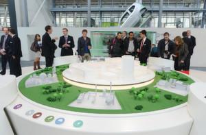 Die Hannover Messe 2012 stand unter einem grünen Stern.