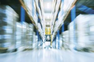 Das neue Logistikzentrum bietet den Movianto-Kunden auch Palettenstellplätze für Blutplasma-Produkte an.