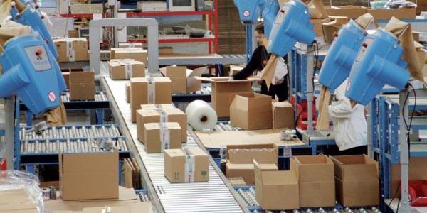 Die Optimierung der Packplätze sorgt für effiziente Prozesse.