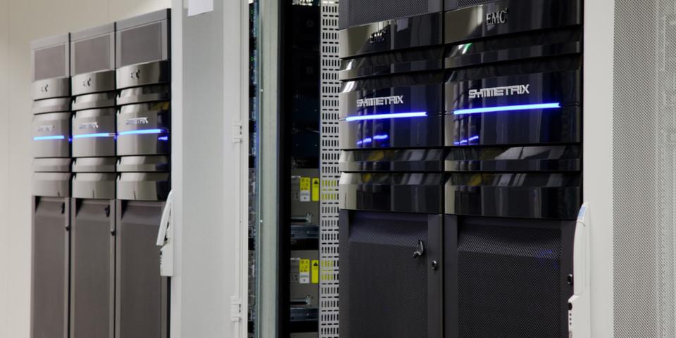 Der Vblock, ein Rechenzentrum in the Box, von VCE ist ein Beipsiel für Konvergente Systeme.