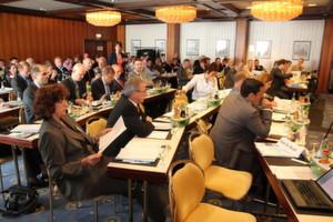 """Rund einhundert Vertreter meist kleiner und mittlerer Unternehmen haben an der BVMed-Konferenz """"Medizintechnische Innovationen in der klinischen Praxis"""" am 3. Mai 2012 in Mannheim teilgenommen"""
