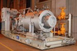 GE's Integrated Compressor Line (ICL) technology is designed to help increase efficiency and minimise the environmental impacts of compression plant operations. The GE ICL technology features an integrated system – with a single casing for the compressor and motor – and combines three proven technologies that reduce total emissions, decrease the need for oil and increase energy efficiency