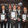 Strahlende Gewinner auf dem HOSTING &amp; SERVICE PROVIDER SUMMIT