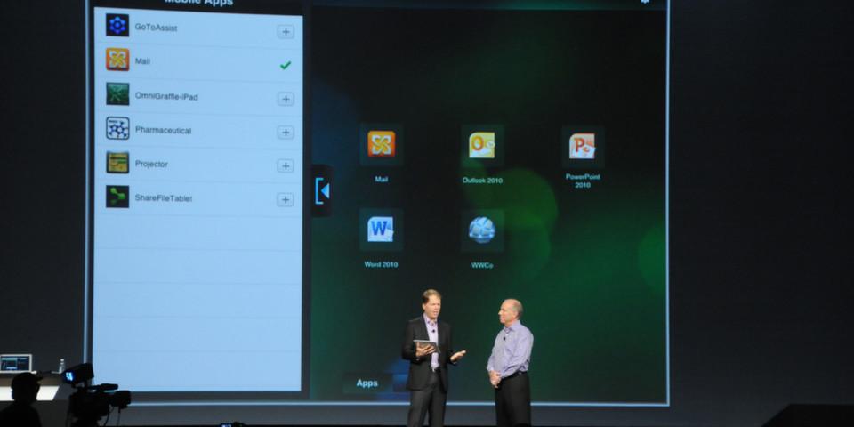 Die Android-Version der Remote-Support-Lösung GoToAssist von Citrix hatte auf der Synergy 2012 in San Francisco Premiere.