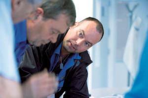 Wenn Innen- und Außendienst als Team zusammenarbeiten, werden Serviceeinsätze zügig und erfolgreich bewältigt.