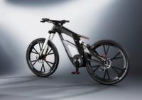 Audis e-bike macht automatisch Wheelies