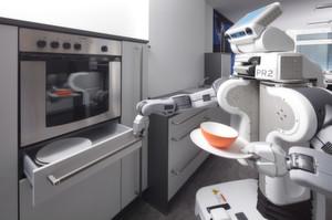 Service-Roboter packen überall mit an.