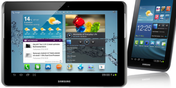 Ab sofort sind neue Tablets mit Android 4.0 von Samsung und Prestigio erhltlich.