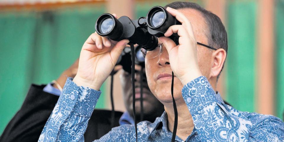 UN-Generalsekretär Ban Ki-moon: Welche Daten der sozialen Medien helfen weiter?