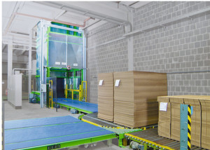 Die Förderanlagen für den innerbetrieblichen Transport werden konsequent im heimischen Sauerland hergestellt.