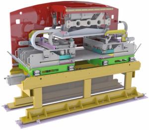 Simotics-Servomotoren an allen Achsen und ein Motion Controller Simotion D435 ermöglichen bei der Linapunch MC-E von Dimeco Alipresse hohe Produktivität, Flexibilität und Energieeffizienz.