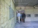 Eingang in die bis zum Jahr 2006 hochgeheime militärische Bunkeranlage der Schweizer Armee - heutiger Betreiber des Komplexes ist die Firma Deltalis.