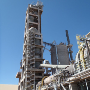 For their new cement plant located near Paulden, Arizona, USA, Drake Cement specified a total of 53 air cannons to prevent accumulations and ensure process flow.
