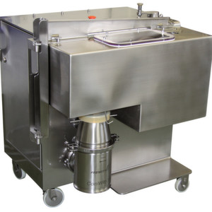 The CCRM-20/12PH is a combination of BBA's pharma laboratory cooler and Frewitt's milling technology.
