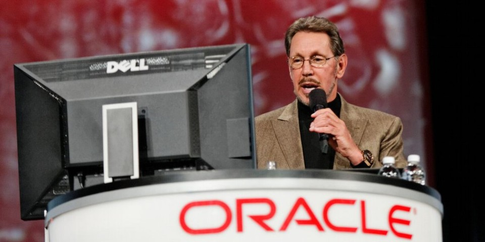 Oracle-CEO Larry Ellison stellte am Firmensitz in Kalifornien unter anderem umfangreiche Cloud-Strategien sowie Oracle Cloud Social Services vor.
